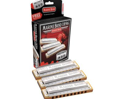 HOHNER M1896XP Marine Band Classic – Pro Pack (C-G-A)